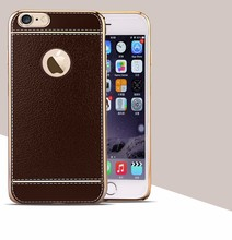 2016 Hot Sale Cases For iphone 6s plus Luxury Litchi Grain Painting Soft TPU Back Cover Case For iPhone6 plus
