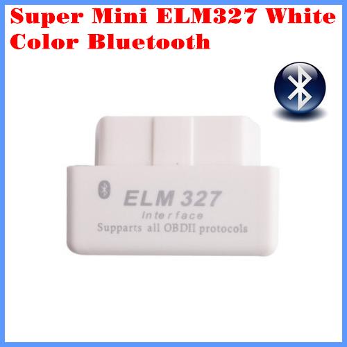 Diagnostic Tool Code Reader Super mini ELM327 Bluetooth OBD-II OBD Can White color 2.1 version - DROBD Store store