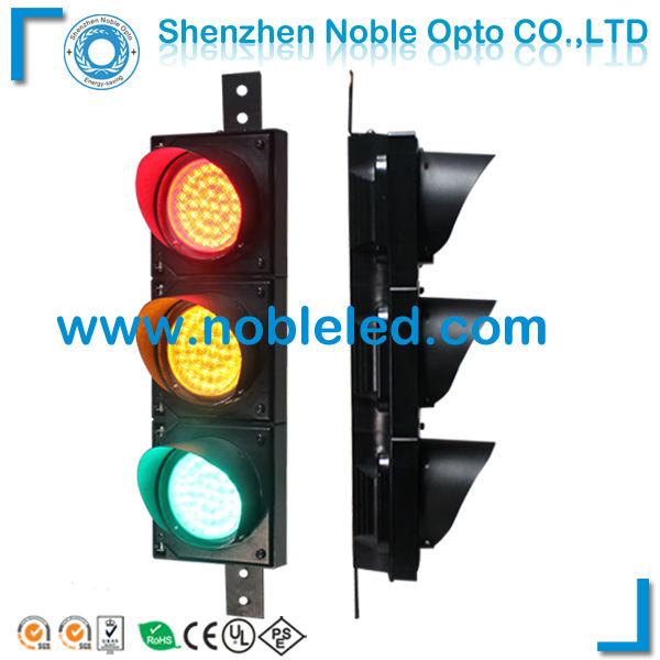 PC Housing Factory Manufacture Solar Led Traffic Light(China (Mainland))