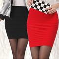 2016 New Spring Summer Fashion Woman Sexy Pleated High Waist Short Skirts Womens Female Chiffon Hip
