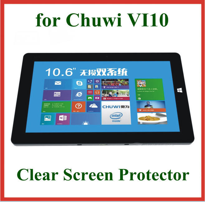 Ultra Clear LCD Screen Protector Protective Film Chuwi Vi10 Tablet PC 10.6 inch Retail Package Size 275*167.5mm - Billy Zeng store