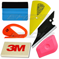Auto Car Window Vinyl Film Wrap Installation Application Tool Kit 3M Felt Squeegee Wool Mini Pink