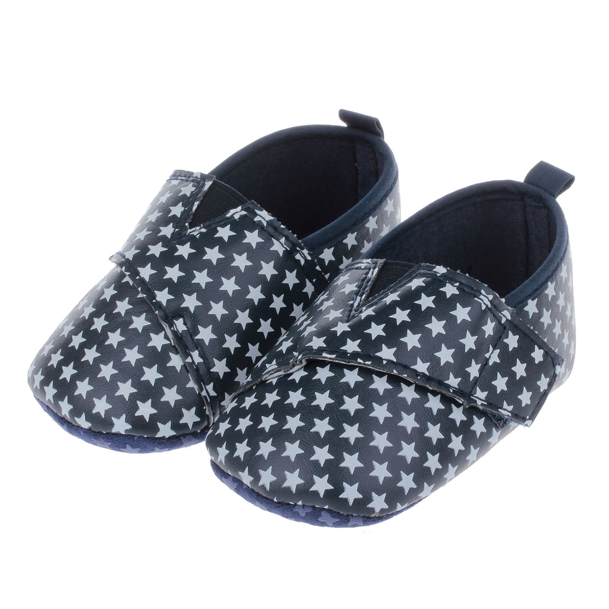 Cute Little Stars Style Cotton Velcro Comfortable Baby