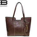 BAGSMART New Women Messenger Bags With Tassel Famous Designers Leather Handbags Large Capacity Women Bags Shoulder