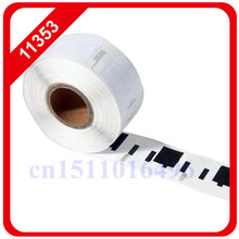 2014 New 100x Rolls Dymo Compatible Labels 11353 1353 24mm X 12mm Labelwriter Turbo for Seiko Slp Etiketten Multipurpose Thermal