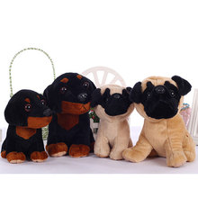 plush toys black dog