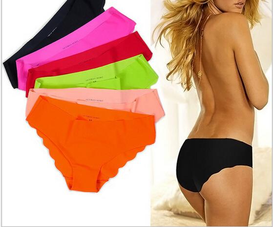 2016 New Fabric Ultra-thin Women Panties Seamless Underwear Intimates Pink Briefs free shipping(China (Mainland))