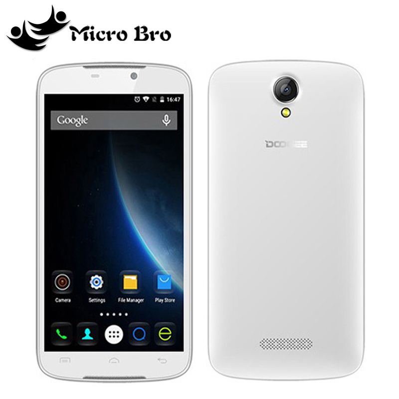 "Original Doogee X6 / X6 Pro MT6580 Quad Core Android 5.1 Cell Phone 3G WCDMA 1GB RAM 8GB ROM 5.5"" IPS GPS 1280*720 8.0MP 3000mAh(China (Mainland))"
