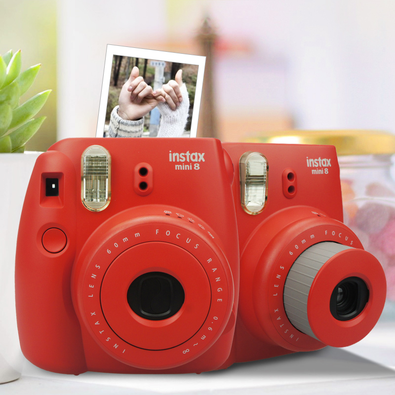 Hot sale fujifilm instax mini 8 instant film photo camera for Instax mini 8 housse