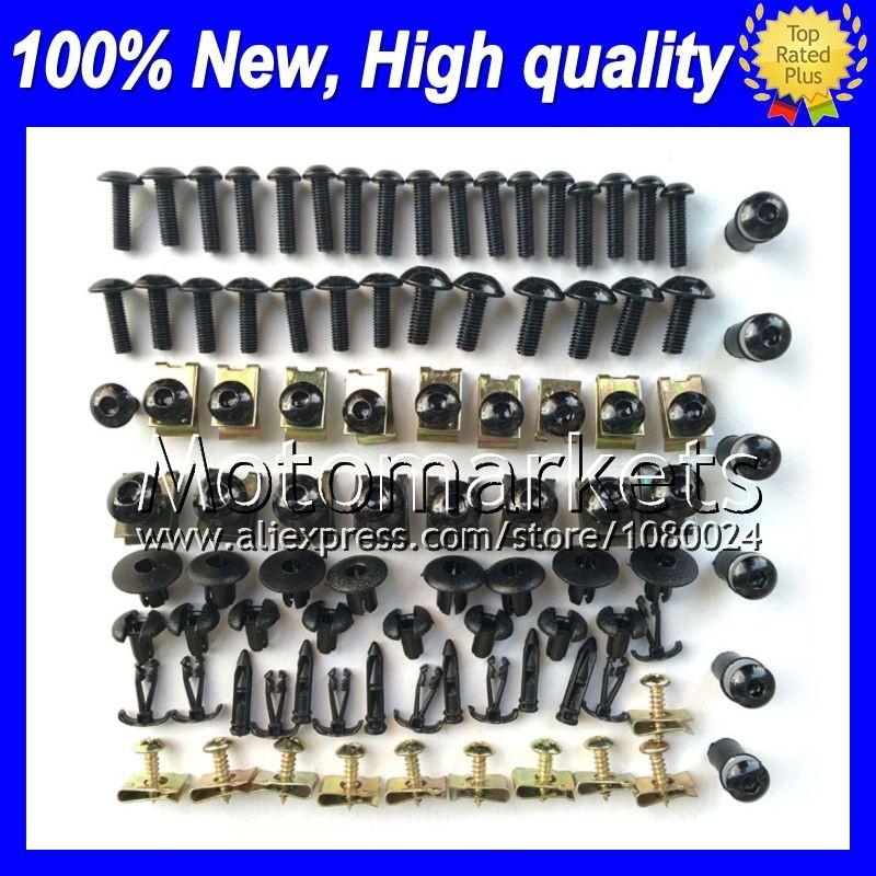 Fairing bolts full screw kit For SUZUKI GSXR1000 07-08 GSXR 1000 GSX R1000 GSXR-1000 K7 07 08 2007 2008 1F175 Nuts bolt screws