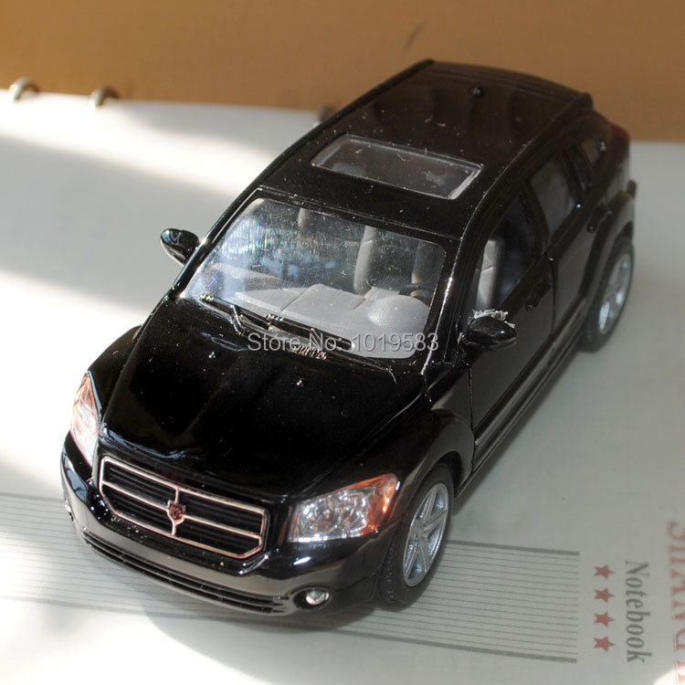 Free Shipping Brand New Pull Back Car Toys 1/34 Scale Dodge Caliber Black Diecast Metal Car Model Toy For Gift/Kids/Children(China (Mainland))