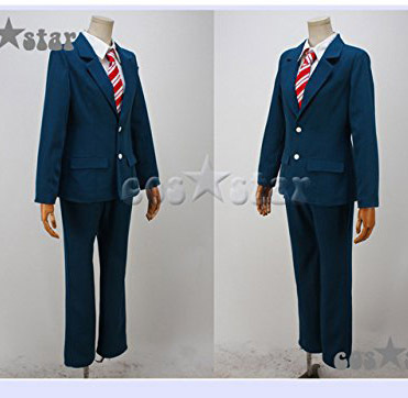 Anime Wolf Girl and Black Prince Cosplay Sata Kyouya Costume School Uniform Set Suit and tie, shirt, knitted sweater and pantsОдежда и ак�е��уары<br><br><br>Aliexpress