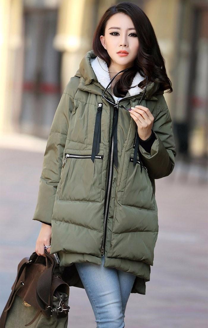 Скидки на Новый 2016 Зимняя Куртка Женщин Парки Женщины пальто Женский Верхняя Одежда Плюс Размер М-5XL Утолщение Ватные Пальто Вскользь Вниз негабаритных пальто