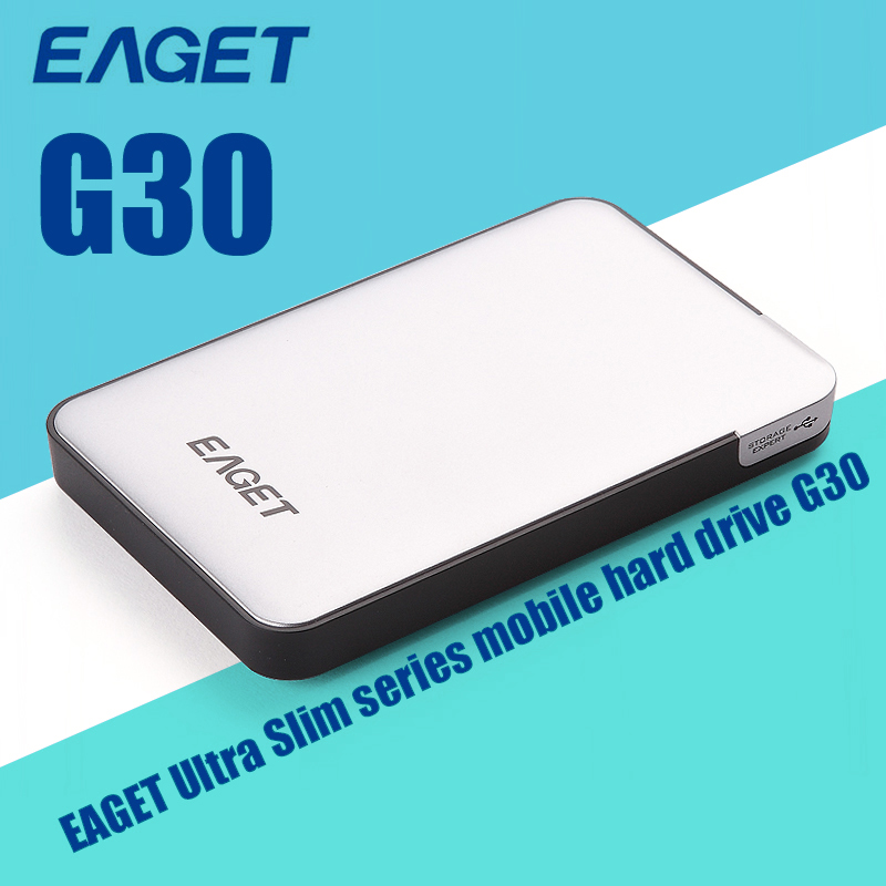 Hot Sale Eaget G30 External Hard Drive High Speed HDD 500GB/1TB/2TB USB 3.0 Hard Disk HDD Case Free Shipping