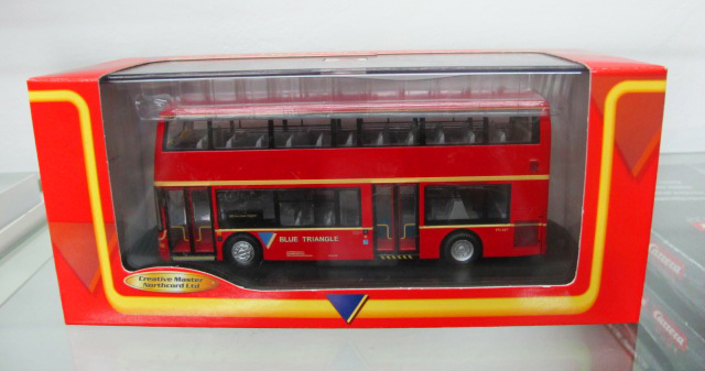Creative Master Northcord Ltd. United Kingdom bus double-decker bus model 1:76 ukbus 2011(China (Mainland))