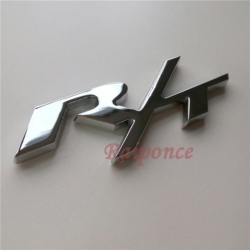 Car R/T Rear Emblem For Dodge Challenger RT ABS Black Auto 3D Letter Sticker Tail Badge New Styling 105*42mm(China (Mainland))