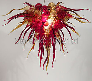 Home Decorative Light Murano Stained Glass Chandelier(China (Mainland))
