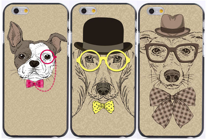 Fashion Cute Cartoon Animal Pug Dog BULLDOG Phone Case For ...