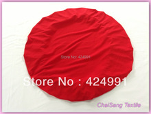 20pcs Red Round top cover &Cap for  Dry bar cover wedding event &party decoration(China (Mainland))