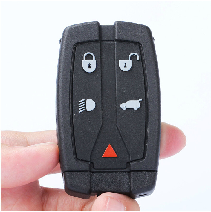 New Good Quality 4+1 Buttons Remote Car Key Smart Card 433MHZ with 46 electronic chip For Land Range Freelander 2<br><br>Aliexpress