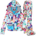 2014 hot womens ski suit ladies snowboarding suit snow wear skiwear camouflage jacket and camouflage pants