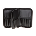 Pro Luxury 29 Pockets Makeup Brush Holder Make up Artist Bags Zipper Cosmetic Case for makeup