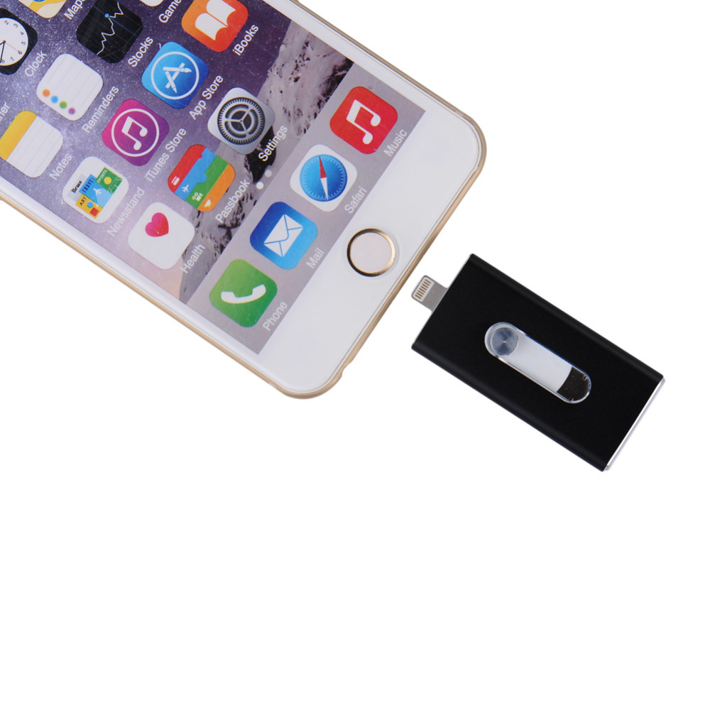 i-Flash Drive 32gb 64gb Micro Usb Pen Drive Lightning/Otg Usb Flash Drive For iPhone 5/5s/5c/6/6 Plus/ipad i-Flashdrive Pendrive