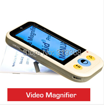 4.3 inch LCD 12color modes 4-32X Low Vision Portable Digital Video Magnifier Microscope Electronic Visual Aids VD-LE2 TV OUT - Grand Kevan Industrial Co.,Ltd. store