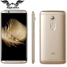 Original ZTE Axon 7 4G LTE Mobile Phone 4GB RAM 64GB ROM 5.5″ 2K 2560X1440px Quad Core 2.15GHz 20MP Android 6.0 Fingerprint NFC