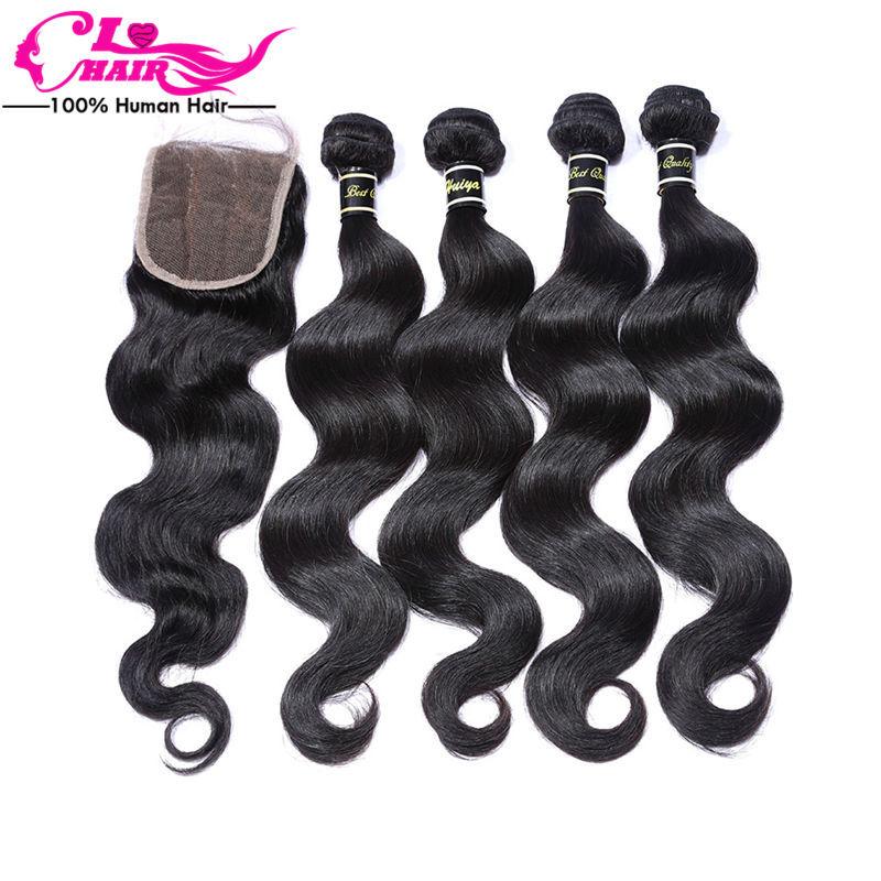 4 bundles peruvian virgin hair body wave with lace closure, peruvian virgin hair with closure total 5pcs/lot peruvian body wave<br><br>Aliexpress