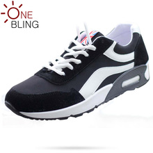 New Brand Discounts 2016 Young Men's Fashion Trend Low Spell Colors Casual Wedge Shoes Breathable Lace-Up Cushion Flats