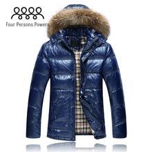 FPP DC402 New Free Shipping Fashion Thickening Down Warm Coat Winter Men Medium-Long Men's Jacket coat British Casual Coat