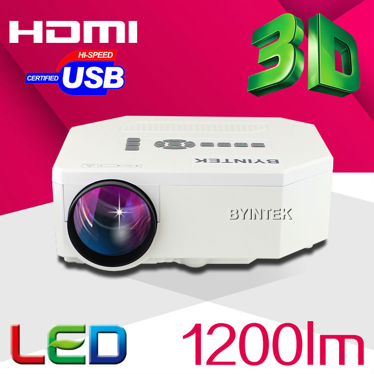 Big Discount Newest 2015 LED Mini Video LCD 1080P 3D Home Theater Projector Full HD Proyector Beamer Projetor