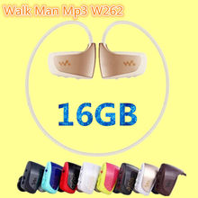 New High quality NWZ-W262 16GB sport MP3 music player for sony walk man mp3 earphone hot sale running mp3 player 16GB headphones(China (Mainland))