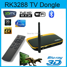 HY-V3 RK3288 Quad Core Cortex A17 Android 4.4 2G/8G Android TV BOX 4K H.265 HDMI Bluetooth 2.4/5G Wifi Smart TV XBMC TV Receiver