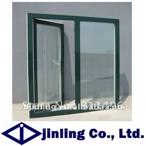 Aluminum window design with casement open for Window design group