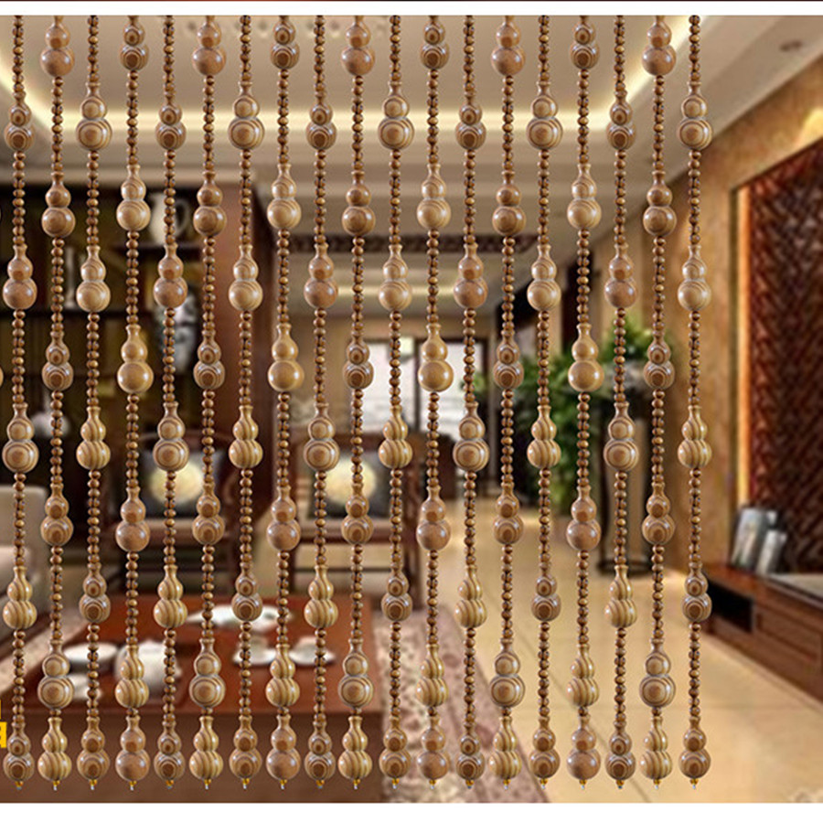 Bead curtain crystal partition curtain finished product crystal bead - Curtain Transporter Lucky Feng Shui Curtain Partition Curtain