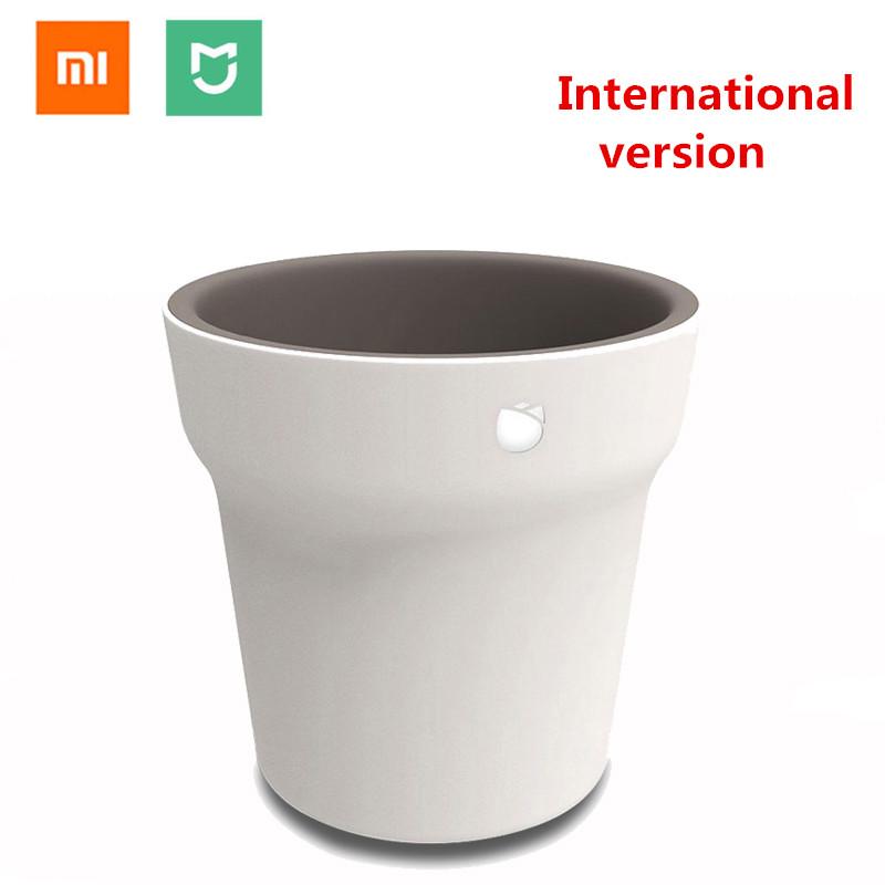 Original Xiaomi Mijia Smart Flower Pot Flora Ropot Monitor Waterproof Intelligent Detection Pots Plants Grass Soil Tester Sensor