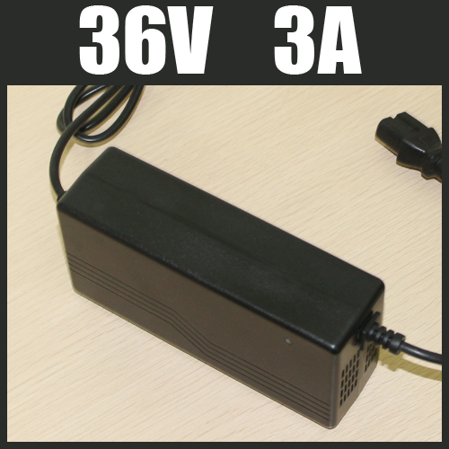 36V 3A Lithium Battery Charger 42V 10S High Quality Electric Bicycle Battery Charger 36V Lithium Charger Free Shipping(China (Mainland))