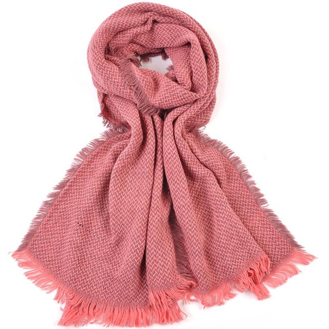 200 cm corrieron caliente nuevo invierno copo de nieve de la bufanda para mujeres gruesas calientes