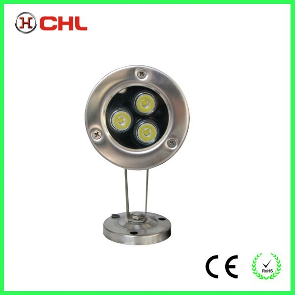 led underwater lamp  for pool ip grade 68 with CE RoHS
