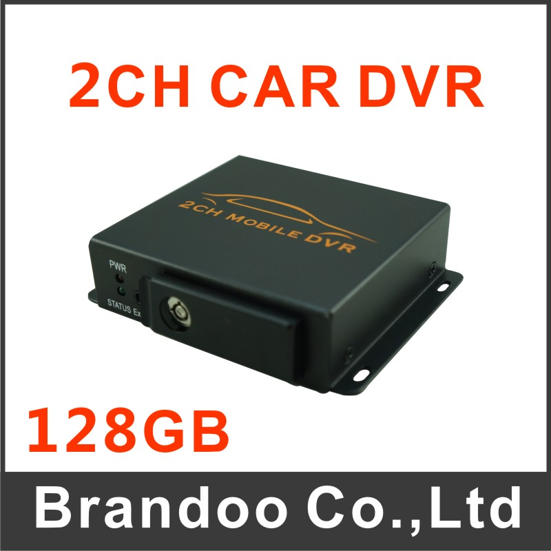 2 channel car dvr, for truck, van,bus,taxi used, 128GB recording<br><br>Aliexpress
