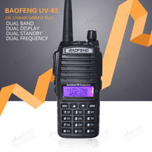 2013 New Design Handheld Walkie Talkie BaoFeng UV-82 Dual Band 136-174MHz&400-520MHz with Double PTT Button two way radio UV82