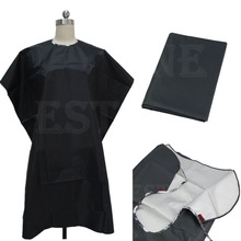 2014 New  Adult Salon Hair Cut Hairdressing Barbers Hairdresser Cape Gown Cloth Waterproof Free Shipping