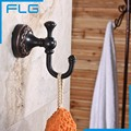 New Design Robe Hook Clothes Hook Solid Brass Construction ORB Bath Hardware Accessory Home Decoration