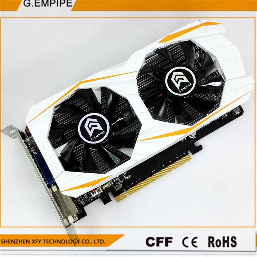 For Office 1GB DDR5 192Bit GTX550TI PC Graphics Card pci-express Placa de Video carte graphique Video Card for Nvidia geforce(China (Mainland))