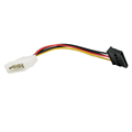 10pcs Molex To SATA Power Adaptor Cable Lead 4 Pin IDE Male To 15 Pin HDD