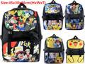 Pokemon GO Pikachu EEVEE Cosplay Backpack Shoulderbag Backpack School Book Bag 45x30x16cm