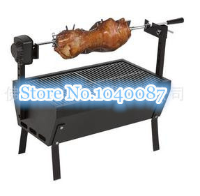 FREE SHIPPING high quality charcoal BBQ ,charcoal bbq barbecue grill,outdoor bbq,220V electric motor(China (Mainland))