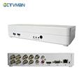 CTVMAN CCTV Mini dvr 8ch 960h full D1 ONVIF Hybrid NVR HVR 1080p HDMI p2p Cloud